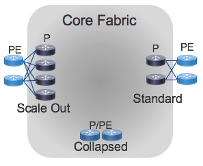 Core Fabric Topology